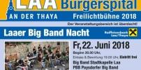Aushängeschild für Laa: die BIGBAND der Stadtkapelle Laa!