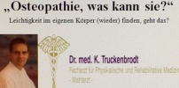 Vortrag der Volkshochschule Laa mit dem Osteopathen Dr. med. Klaus Truckenbrodt