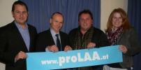 proLAA verstärkt sein Finanzteam und erwartet im Jänner Einbindung in die Auswahl des Kassenleiter-Nachfolgers