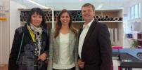 proLAA gratuliert Frau Hess zur Geschäftserweiterung